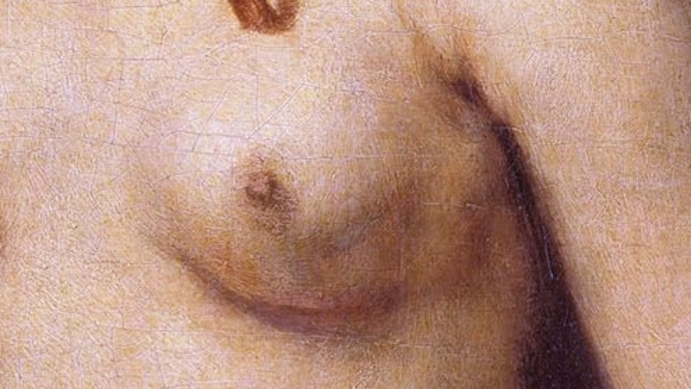 Detalle de Betsabé con la carta de David y detalle, Rembrandt _ En El Vértice