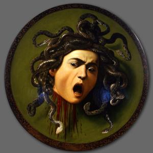 Cabeza de medusa, Caravaggio _ En El Vértice