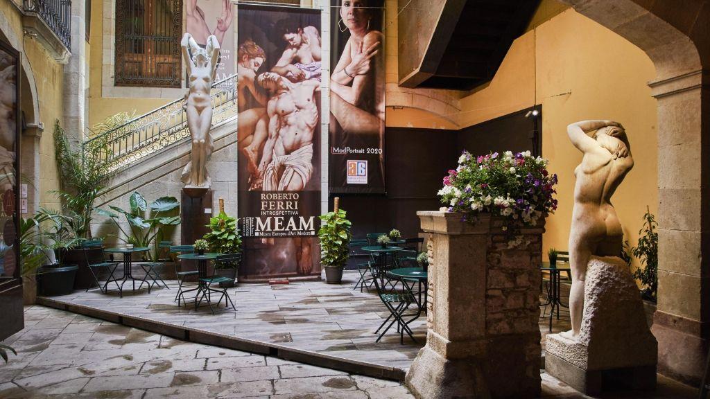 Exposición de Roberto Ferri. Fuente: Museu Europeu d'Art Modern